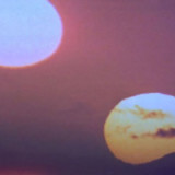 The two sun of Tatooine