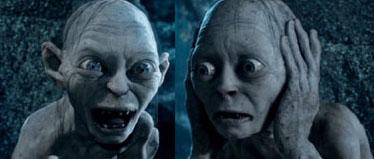 Gollum vs Sméagol