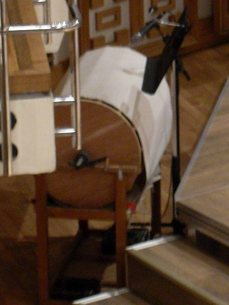 Machine à vent. Crédit : Wikimédia Commons