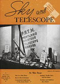 Numéro de Sky and Telescope de mars 1946.