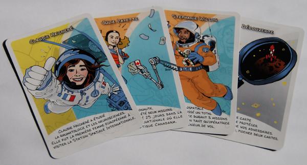 L'extension du jeu Femmes de l'Espace