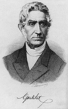 Portrait d'Adolphe Quételet