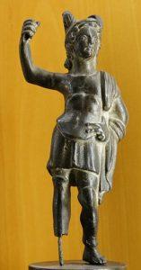Statue représentant le dieu Mars