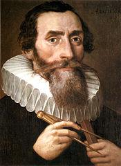 Portrait de Johannes Kepler (1571-1630)